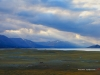 Mountain lake Khoton Nuur in Mongolian Altai