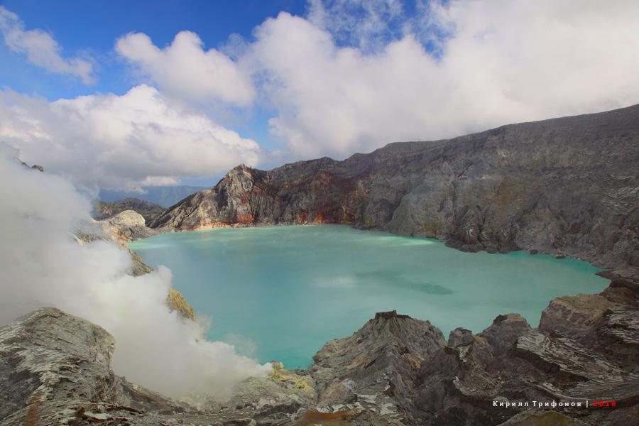 Видео экскурсия к вулкану Иджен