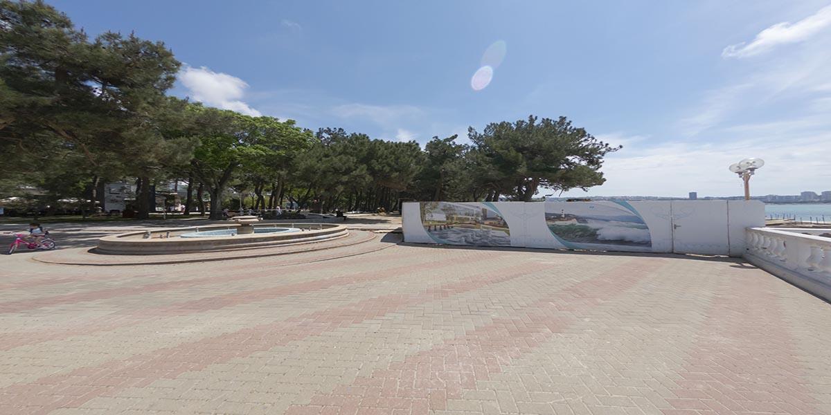 Реконструкция пляжа Дружба