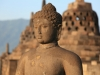 Statue of Buddha in Borobudur temple