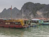Village in Ha Long bay view