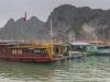 Village in Ha Long bay view