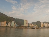 Cat Ba town , view from sea