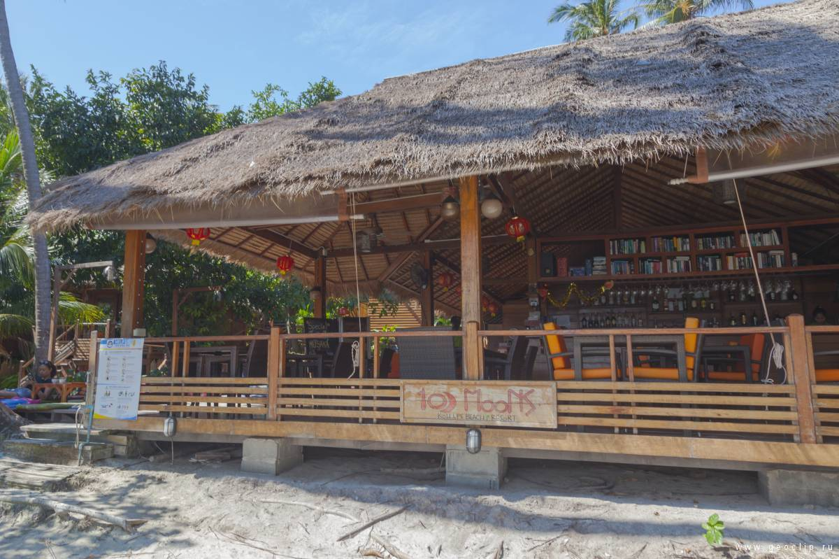 Ресепшен и ресторан Ten Moons Lipe Resort