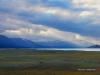 Mountain lake Khoton Nuur in Mongolian Altai