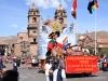 Plaza de Armas in Cusco city in Peru
