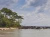 Wild sandy beach