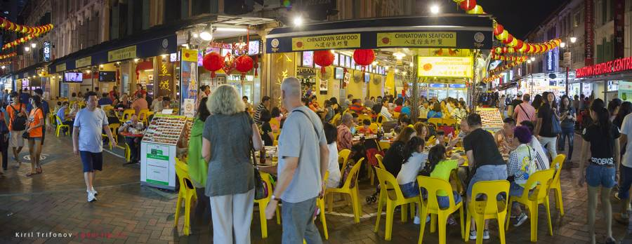 Китайский квартал в Сингапуре