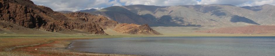 Монголия , Алтай, озеро Толбо-нуур