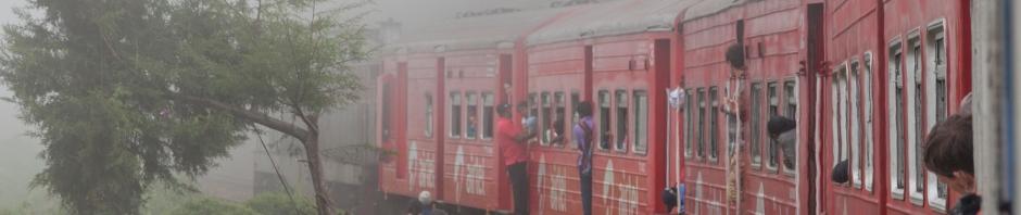 Поезд из Нувары Элия в Эллу