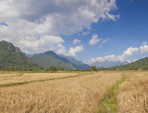 Вангвьенг, Лаос