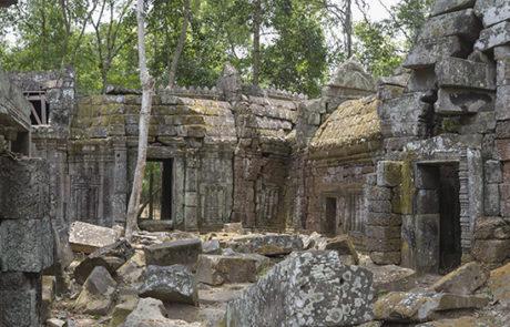 Неизвестный храм в Ангкоре