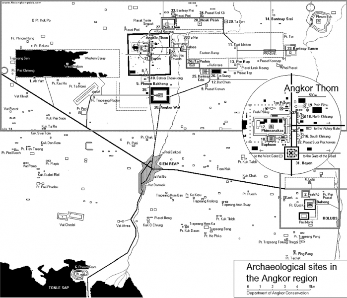 Схема Ангкора