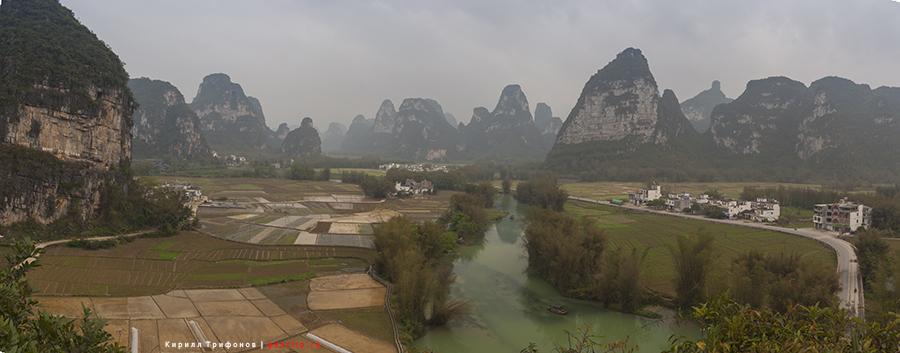 Местность Минг Ши, округа Даксин, провинции Гуанси