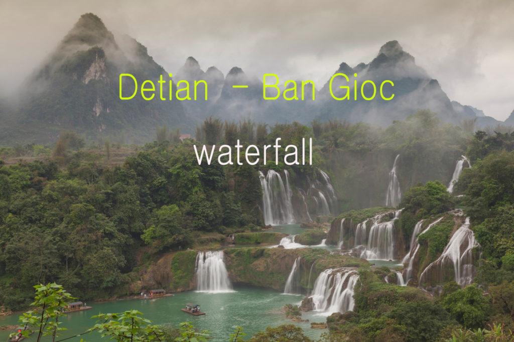 Видео экскурсия к водопаду Детьян