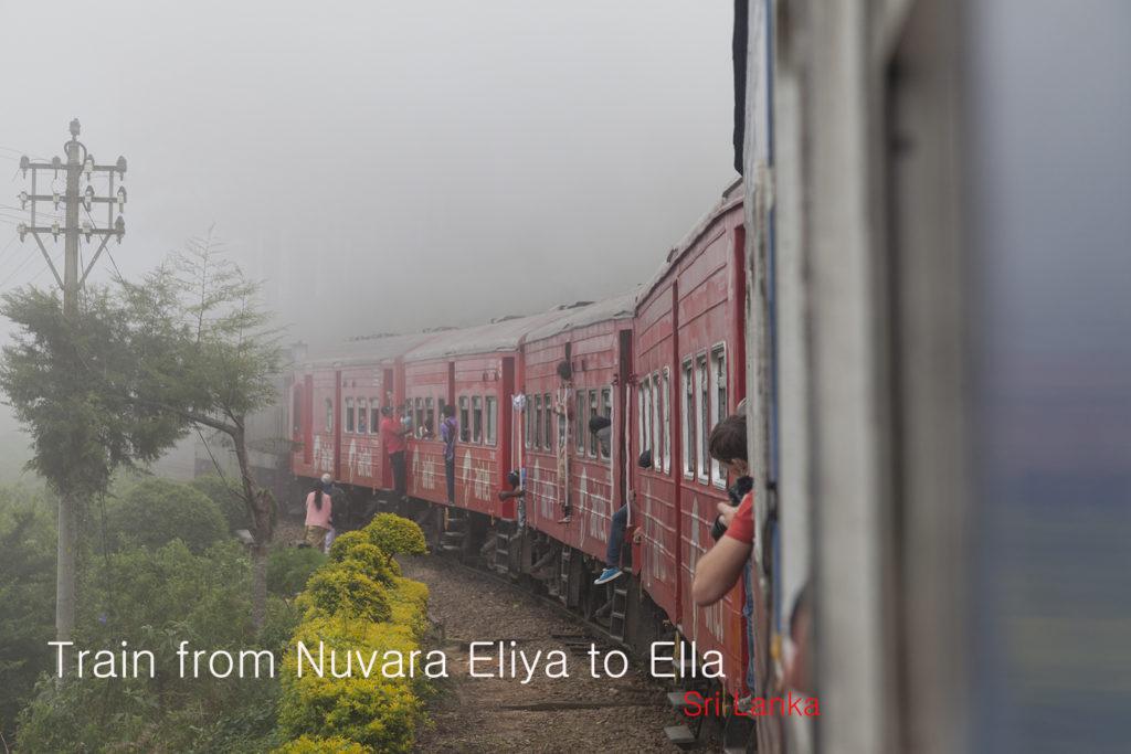 Видео – поезд Нувара-Элия - Элла
