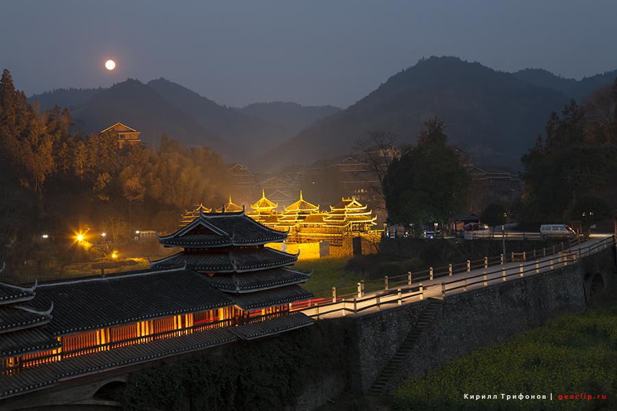 Ченъян , Гуанси ( Chengyang scenic area (程阳) )