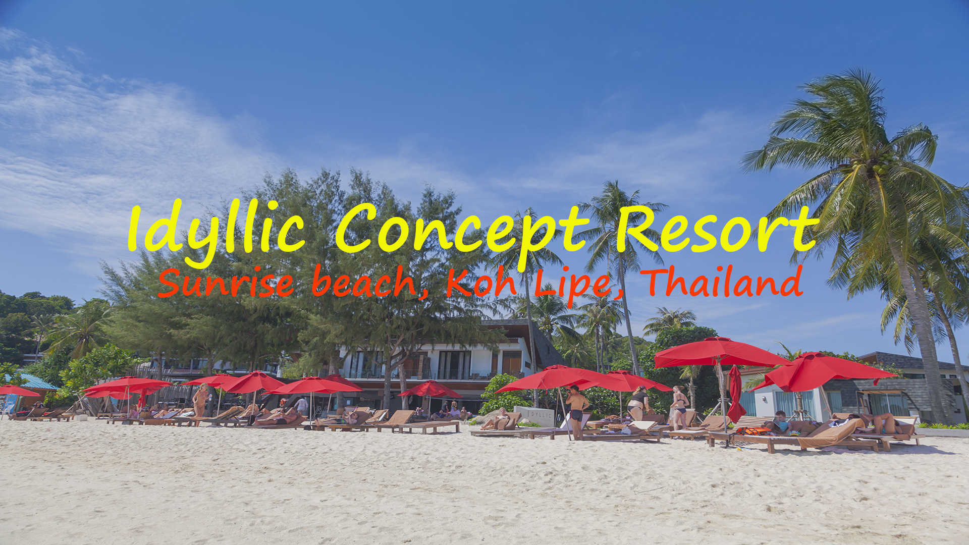 Видео обзор территории и пляжа Idyllic Concept Resort