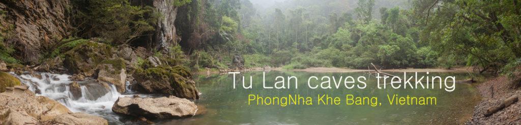 Видео отчет о походе по пещерам Tu Lan