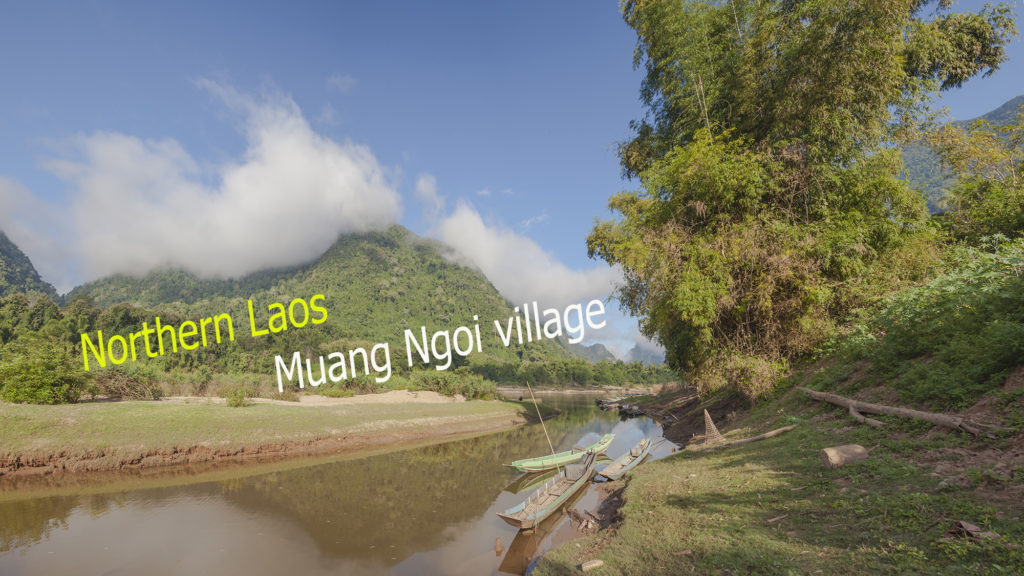 Видео - Пейзажи реки Нам Оу между Муанг Нгой и Нонг Кхиав