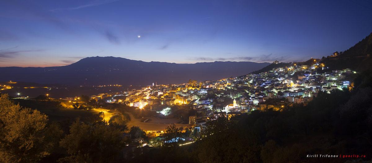 Путешествие по Марокко на автомобиле — город Шефшауэн