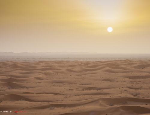 Пустыня Сахара в Мерзуге