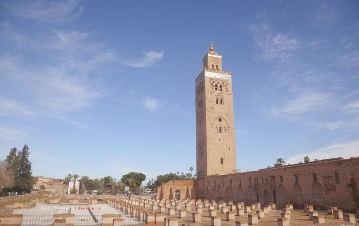 Мечеть Аль-Кутубия в Марракеш