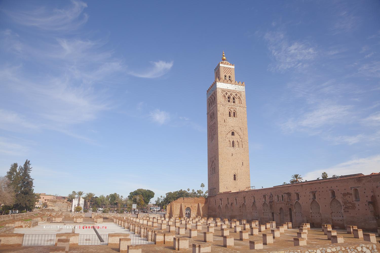 Мечеть Аль-Кутубия в Маракеш