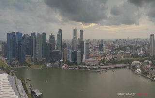 Смотровая на отеле Marina Bay Sands