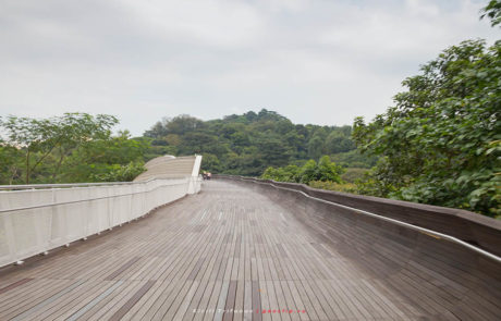 Мост в парк Mount Faber