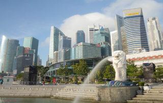 Символ Сингапура Merlion