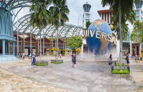 Парк-аттракционов Universal Studio