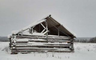 Заброшенная финская деревня