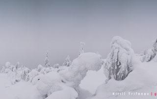 Гора Кивакка в парке Паанаярви
