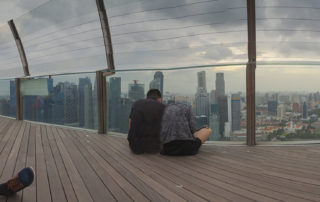 Смотровая Marina Bay Sands SkyPark