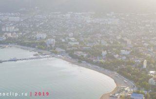 """Центральный городской песчаный пляж """"Дельфин"""" - панорама"""
