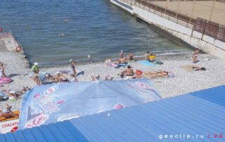 """Галечный пляж """"Мечта"""""""