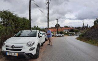 Бесплатная парковка у крепости Томар