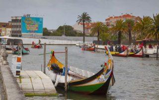 Город Авейру - каналы