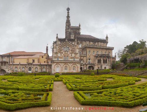 Дворец Буссако, город Авейро, приезд в Порто