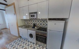 Апартаменты Fontainhas River Residence - кухня