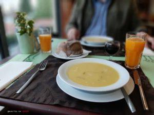 Город Лузо - ужин