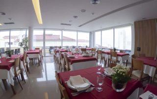 Hotel Miramar - São Pedro de Moe - ресторан