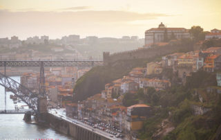 Закат в Порто