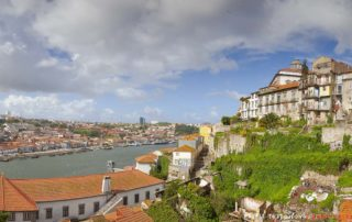 Порто - вид с моста Понти ди Дон Луиш I