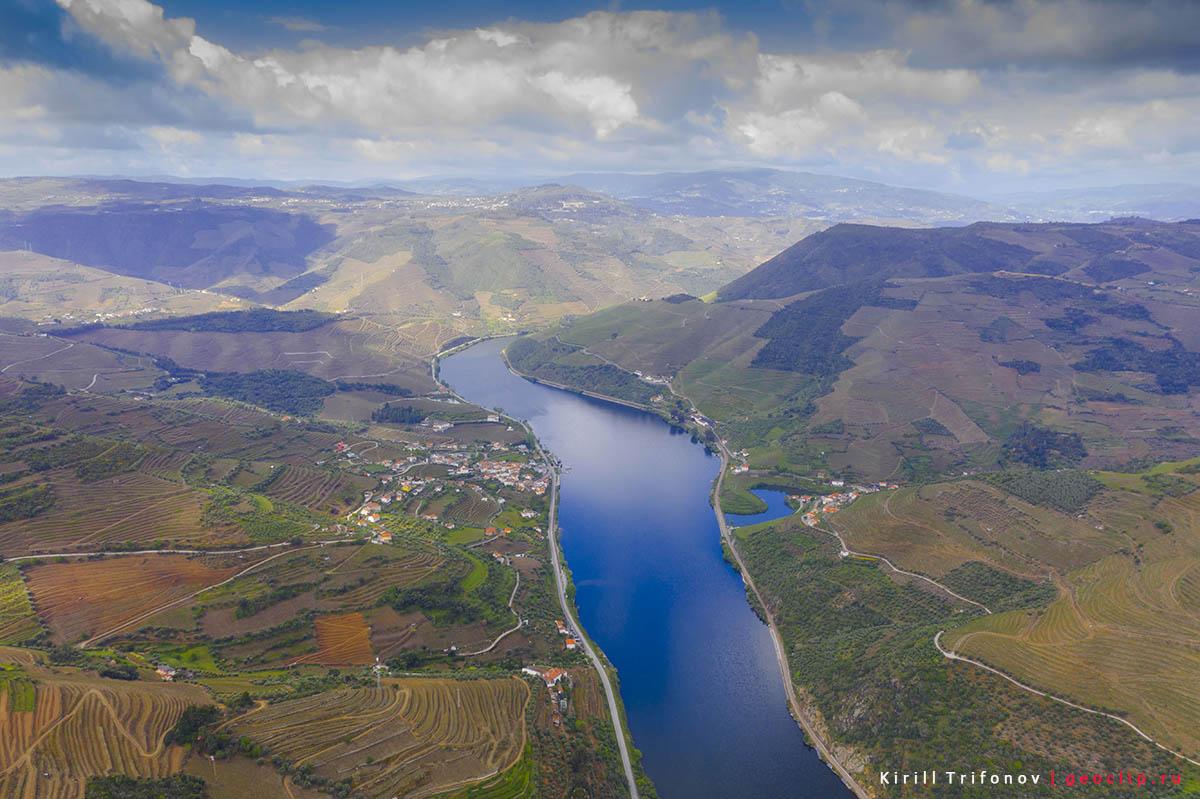 Долина реки Дуэро, смотровая St Leonardo de Galafura