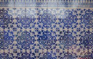 Крепость - монастырь Томар - плитка азулежу
