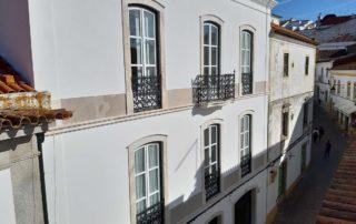 Гостиница Peacock-House Evora - веранда на 2м этаже