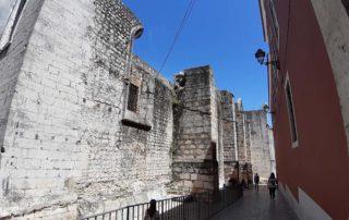 Стена монастыря Кармелитов