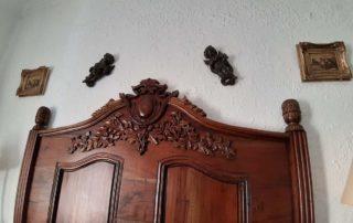 Гостиница Casa da Adoa - кровать